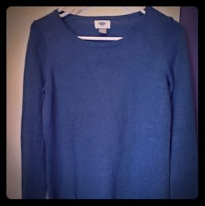 Old Navy blue sweater sz Small